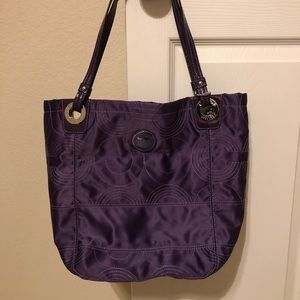 Coach Alex quilted tote